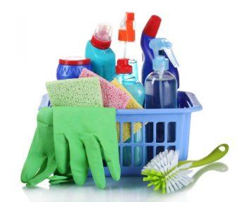 продукти за почистване на домакинството